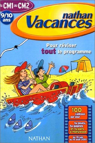 Cahier de Vacances 2001 : primaire CM1/CM2 par Josiane Thiriot, Jocelyne Boulard