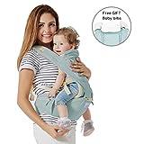 Mondeer Baby Hocker Schulter 9 in 1 Multi-Funktions Babytragen für