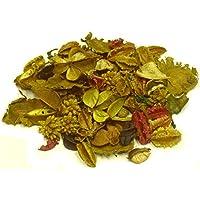 MERCAVIP Thermovip Popurrí perfumado de Flores secas Amarillo. Formato económico Bolsa de 150gr.