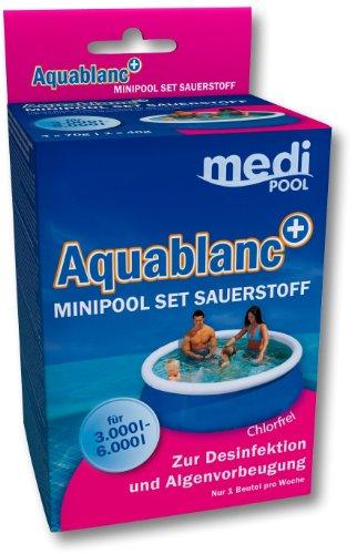 Medipool Schwimmbadpflege MiniPool Set Aquablanc+, 320 g