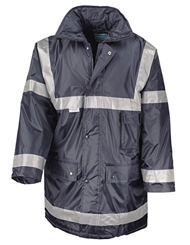 Result WORK-GUARD Management Coat, Navy, XXL (Kragen-polyester Acryl)