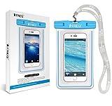 FRiEQ La custodia impermeabile per telefoni cellulari è compatibile con Apple iPhone 5 e ogni altro tipo di smartphone fino a 6''.  Compreso Galaxy S3, HTC One X/X+, Galaxy Note 2, Droid RAZR/MAXX, Nexus 4, EVO 4G LTE, Droid Incredible, Nokia...