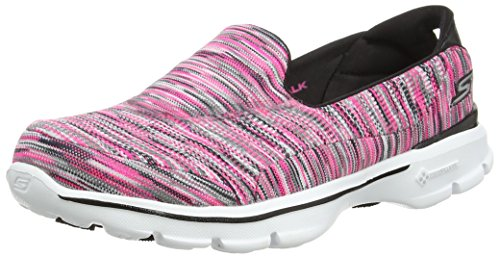 Skechers Gowalk 3 Crazed, Women's Low-Top Sneakers, Pink (Hpbk), 6 UK (39 EU)