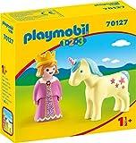 Playmobil 70127 1.2.3. Prinzessin mit Einhorn, ab 18 Monaten, bunt, one Size
