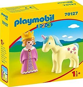 Playmobil 1.2.3 70127 Set de Juguetes - Sets de Juguetes (Acción / Aventura, 1,5 año(s), Niño/niña, Interior, Multicolor, Gente, Mascotas)