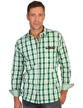 H1217 - Trachtenhemd mit Krempelarm - MONTREAL -