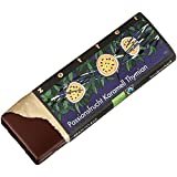 Zotter Milchschokolade mit Passionsfrucht-Thymian-Karamell, handgeschöpft (70 g) - Bio
