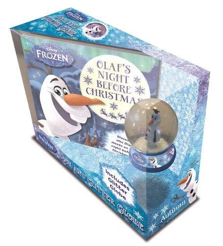 Disney Frozen: Book and Glitter Globe (Book & Snowglobe Disney) (Globes Disney)