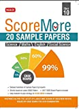 Score More - 20 Sample Papers in English, Maths, Science, S.St.  (Class 10)