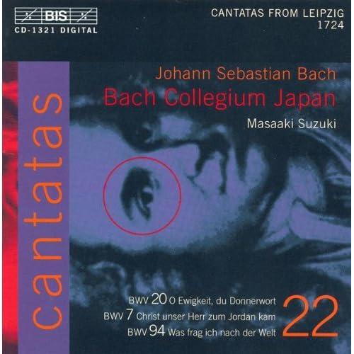 Christ unser Herr zum Jordan kam, BWV 7: Recitative: Als Jesus dort nach seinen Leiden (Bass)