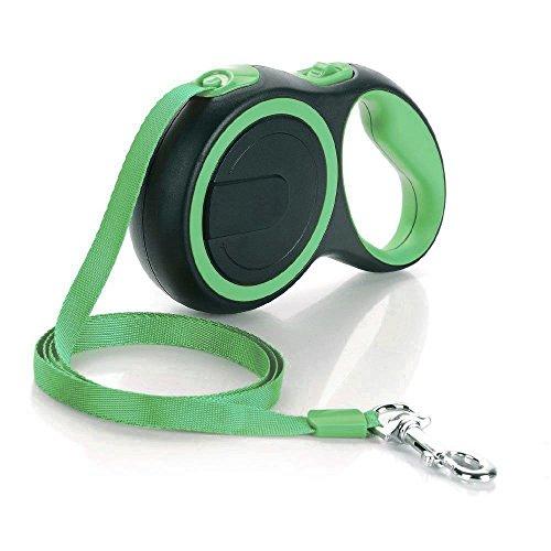 Garsum Roll-Leine einziehbare Hundeleine 5m/8M Gurt für Kleine,Mittlere und große Hunde bis max 25KG/50KG