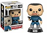 Funko Star Wars Pop! CHASE Blue Snaggletooth # 69 Vinyl Bobble-Head Figur (Smuggler's Bounty Exclusive)