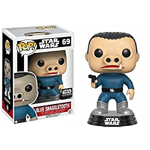 Funko Pop Snaggletooth azul (Star Wars 69) Funko Pop Star Wars