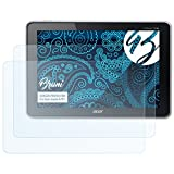 Bruni Schutzfolie für Acer Iconia A701 Folie - 2 x glasklare Displayschutzfolie