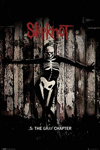 GB eye, Slipknot, The Gray Chapter, Maxi Poster, 61x91.5cm