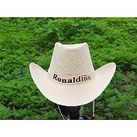 En verano, los hombres y las mujeres llevar sombrilla sombrero, sombrero, sombrero de paja, sombrero de sol, playa de verano de deportes al aire libre y casco de protección solar anti - UV.,Blanco