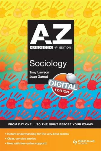 A-Z Sociology Handbook + Online 4th Edition (Complete A-Z)
