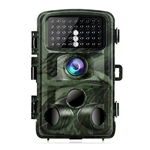 TOGUARD Trail Game Camera 14MP 1080P Infrared Night Vision Hunting Camera Motion Activated Wild ...
