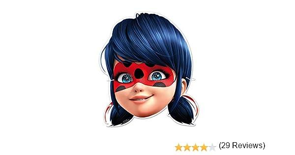 Ladybug Come Travestimento e regalino per Feste a Tema e Feste a Tema Supereroi //// Miraculous Lady Bug 6 Maschere