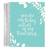 Erin Condren 12 mois de planning de mariage en métal avec bobine de reliure Dec 2018 - Nov 2019 Today, Tomorrow & Forever