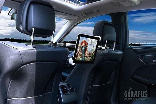 Girafus-Relax-H3-9-11-Zoll-Tablet-Halterung-geeignet-fr-iPad-Galaxy-Plus-und-Girafus-2×2-USB-Auto-KFZ-Ladegert-fr-Kopfsttze-und-Zigarettenanznder