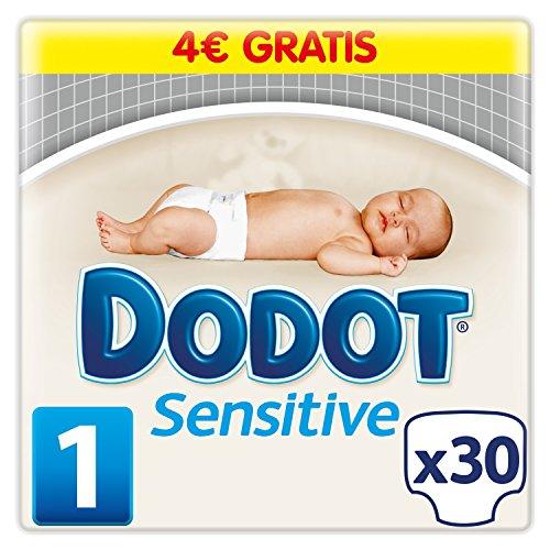 Dodot Sensitive-Pannolini Talla 1 - 30 pañales