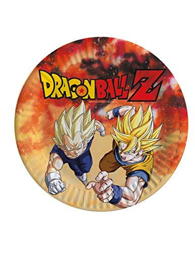 comogiochi plato 23cm Dragon Ball Z, Multicolor, 5cg82007