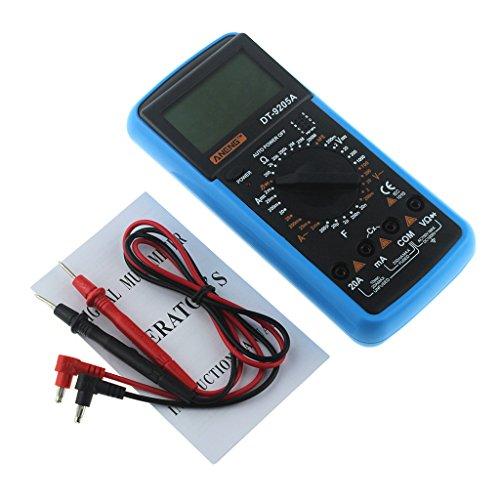 JunYe DT-9205A LCD Digital Multimeter Electric Handheld Tester Meter AC DC