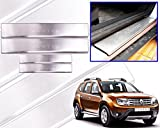 #5: Premium Quality Car Door Stainless Steel Scuff Plate Foot Steps For-Renault Duster