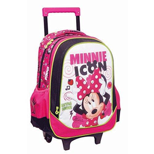 Minnie - disney - zaino scuola trolley