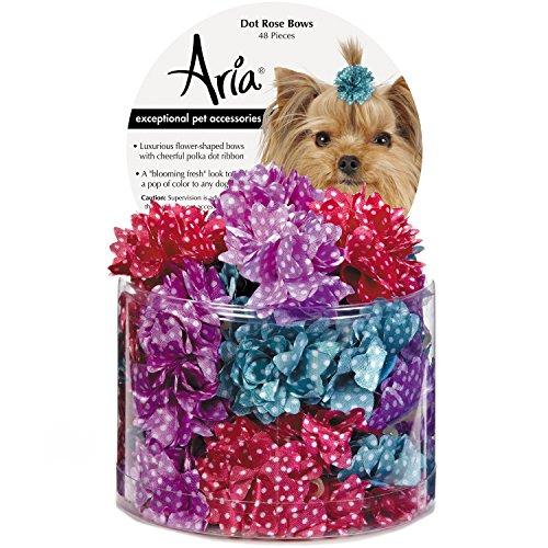 Artikelbild: Aria Dot Rose 48Stück Bögen für Hunde