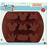 Stor 77704 Molde silicona para bombones grandes family bakery en blister para repostería, Compuesto, Multicolor, 25x20x7 cm