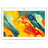 Tablette Tactile 10 Pouces BEISTA-(Android 9.0,4G Tablettes,64 Go ROM,WiFi,Quad Core,Full HD,Conception humanisée) Or