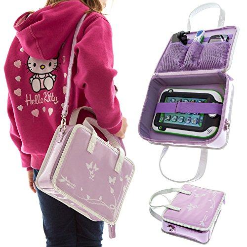 UltimateAddons® Mädchen Reise verstauen Handtasche geeignet für Lexibook Kids Tablet Telefon