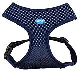 BPS® Hundegeschirr für Haustiere Callar für Hunde Haustiere 6 Größen zur Auswahl für kleine und mittlere Hunde und große Hunde, dunkelblau, M