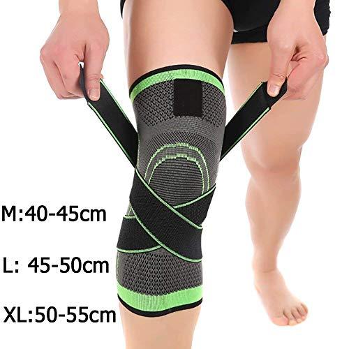 Tmalltide, komfortable und atmungsaktive Kompressions-Kniestütze, Unterstützung bei Gelenkschmerzen und Linderung von Arthritis, verstellbare Kompressionsgurte. Verbesserte Kreislaufkompression - Therapeutische Brace Support-wrap