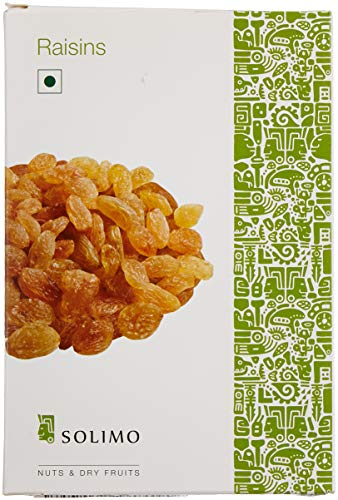 Amazon Brand – Solimo Premium Raisins, 250g