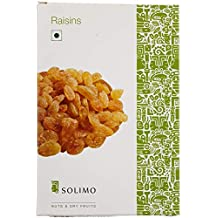 Amazon Brand - Solimo Premium Raisins, 250g