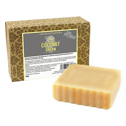 kokosol-duschseife-coconut-dream-handgesiedete-seife-mit-100-reinem-kokosol-100probio-90g