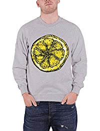 The Stone Roses Sweat-Shirt Lemon band Logo nouveau officiel Homme Gris
