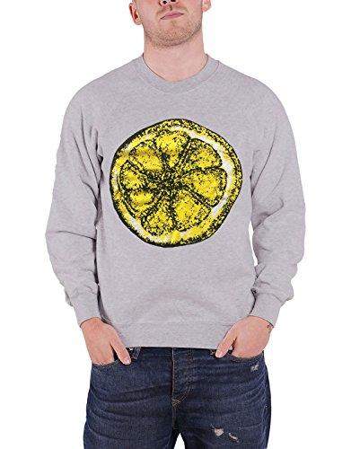 The Stone Roses Men's Official Lemon Sweatshirt, Grey - S, L, XL