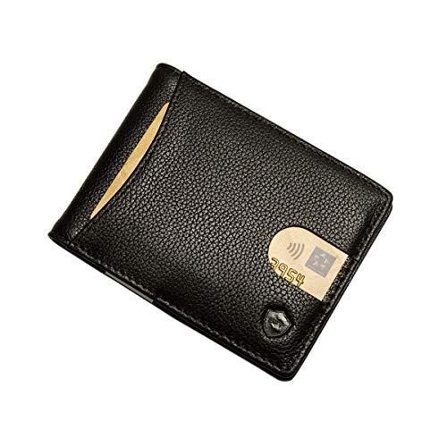 f209bae2569f8 SECUREFY® fold - TÜV zertifiziertes RFID Slim Wallet - Kreditkartenetui aus  hochwertigem Leder mit Geldklammer