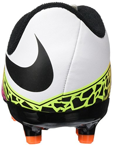 Nike Hypervenom Phelon Ii Fg, Chaussures de Football Mixte Enfant Blanc (White/Black Total Orange Volt)