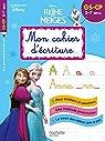 Disney - Reine des Neiges Mon cahier d'écriture GS par Hachette