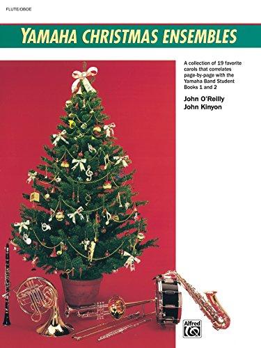 Yamaha Christmas Ensembles (Flute, Oboe): Christmas Sheet Music (Yamaha Band Method) (English Edition)