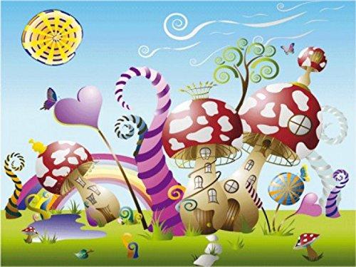 mundo-de-los-ninos-candy-land-village-4-parts-poster-fotomural-360-x-255cm