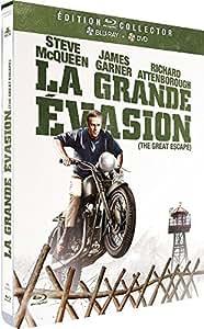 La Grande évasion [Blu-ray] [Combo Blu-ray + DVD - Édition Limitée boîtier SteelBook]