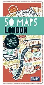 DuMont 50 Maps London: Mit coolen Tipps und verrückten Karten hier kaufen