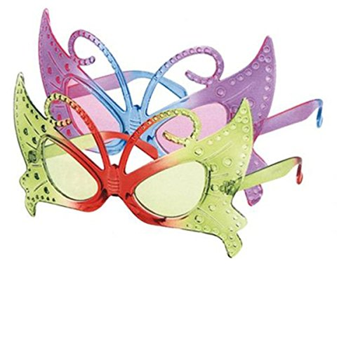 Freak Scene Partybrille ° Fun Brille ° Modell: Schmetterling 1
