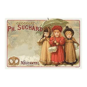 Éditions Clouet 31012 Chocolat Suchard 3 Enfants Set de Table